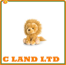 Kids Car Seatbelt Buddy Plush Soft Toy Seat Pet LION