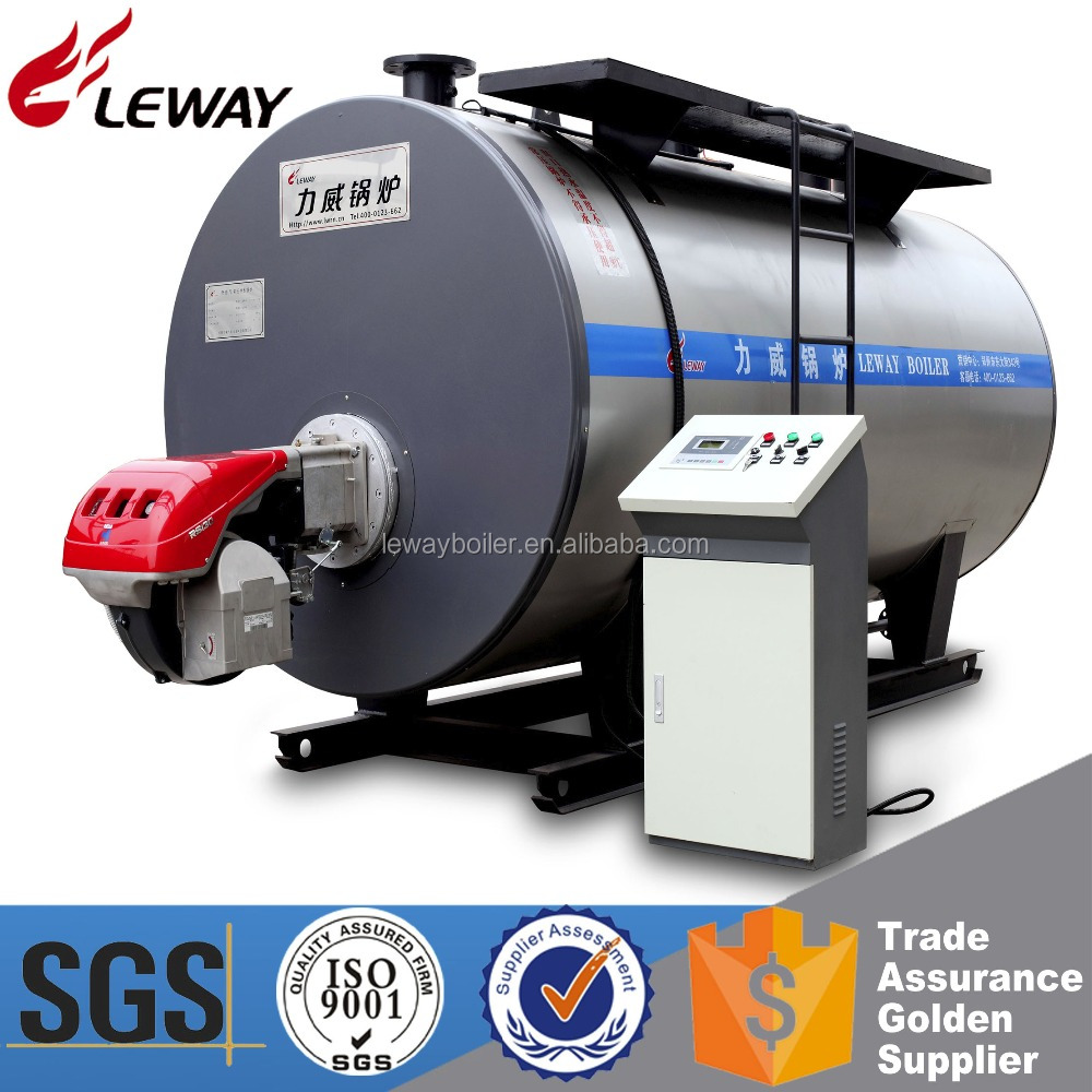 Low Nitrogen Energy Saving 0.35MW Gas Hot Water Boiler Price For Dry Cleaning Machine