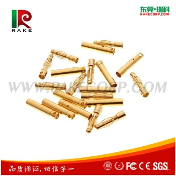 Rc Banana Connector Gold Plated Brass 4mm Banana Plug