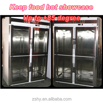 stainless steel energy-efficient hot cabinet
