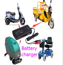 2017 new arrival batteries charger is golf cart motorbike car Battery charger 12V 24V 36V