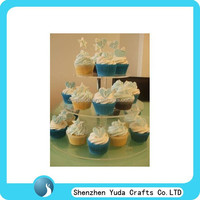 clear 3 tier cupcake stand plexiglass cupcake stand for sale