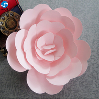 dark red giant paper roses for wholesale