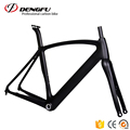 FM099 DengFu DI2 carbon aero bicycle frame disc brake carbon road disc frame