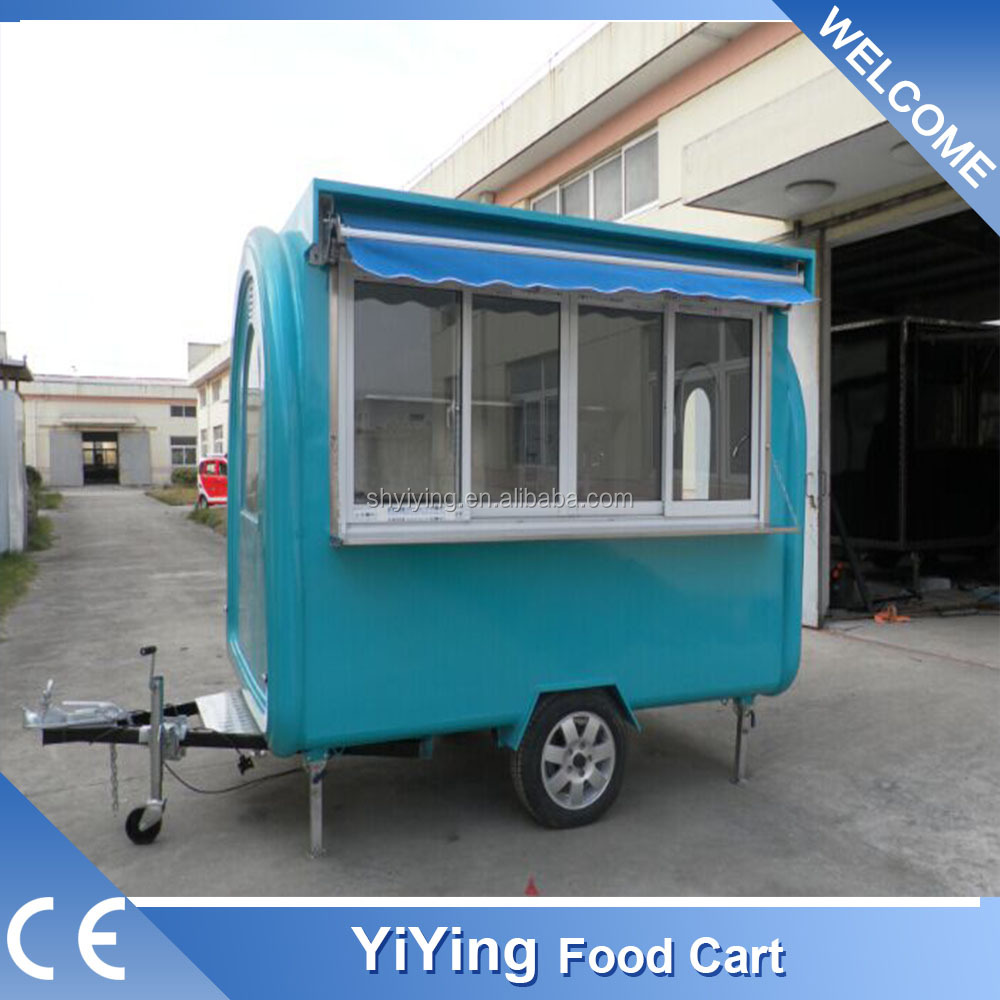 FR220H Yiying factory made brand new single axle semi mobile stage 4 wheel utility trailer