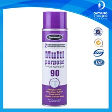 Sprayidea 90 multi-purpose spray adhesive use on lightweight materials
