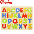 Children educational intelligent 3d effect wooden alphabet puzzle