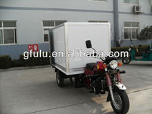 cargo tricycle with rear container