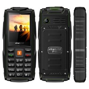 Free sample VKworld New Stone V3, Triple SIM rugged phone Waterproof Dustproof 2g mobile phone rotatable cellphone