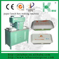 two stations semi mold lunch box making machine