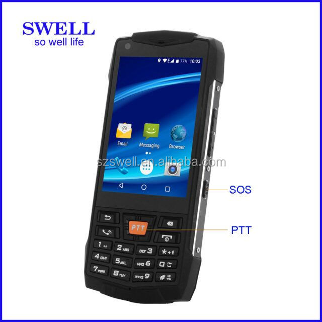 android mobile phone ip69 rugged Phone IP68/NFC/PTT no camera smartphone