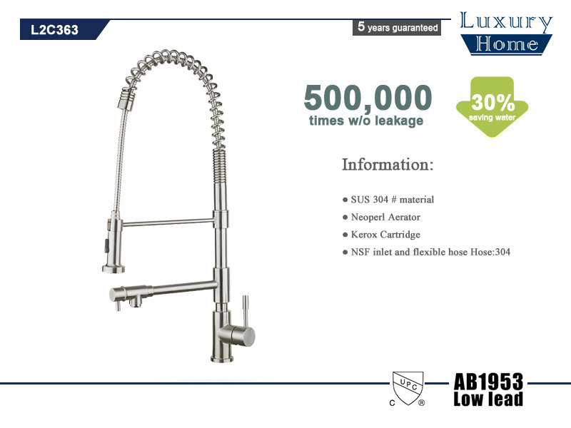 Factory Direct Sales Single Handle Upc 61 9 Nsf Kitchen Faucet View 3 Way Upc 61 9 Nsf Kitchen