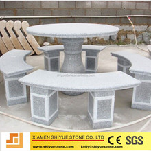 Good price granite outdoor tables and chairs