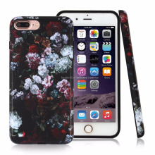 fashion customized design smart phone cover for phone 7 plus , tpu printed raised edge phone case for iphone7 plus