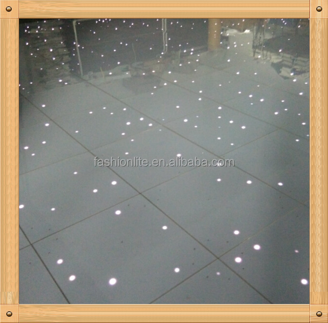 2015 LED Starlit Dance floor light, Waterproof Portable Led Dance Tiles/Wedding Floor