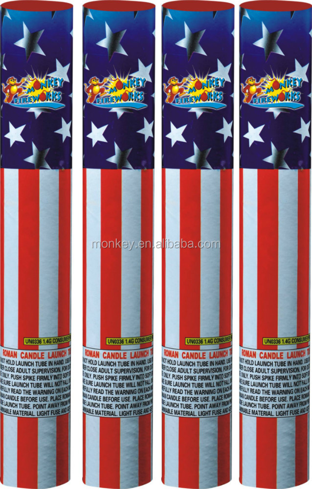 Supplier Hand Hold Single Shot M212-1 Roman Candle fireworks