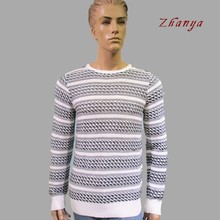 Round neck sweater pullover model for man