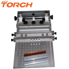 PCB solder paste screen printer machine/Manual high precision screen printing T4030