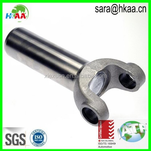 Stainless steel drive shaft tube yoke joint