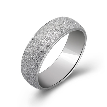 Factory direct sale, titanium steel lovers ring, proposal of jewelry YSS748