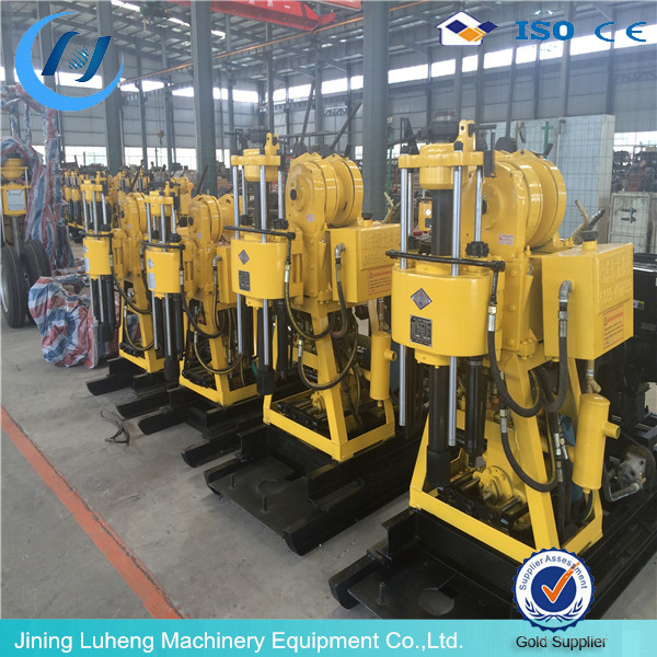 Deep Hydraulic Diesel Engine/Motor Borehole Water Well Drilling Rig Machine