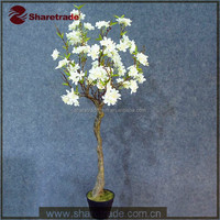 Manufacturer Durable High Simulation Decoration Artificial Flower Potted Plant Tree For Sale