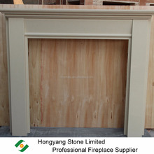 The Most Popular British Irish Lugano Micro Marble Modern Fireplace Surround