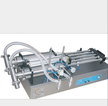 semi automatic single nozzle cosmetic filling machine