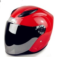 Ultralight Integrated antique specializ design open face helmets, double visor open face helmet