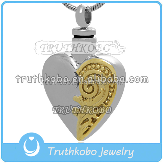 broken heart jewelry Metal Pendants Charm ashes magnetic Jewelry pet Making