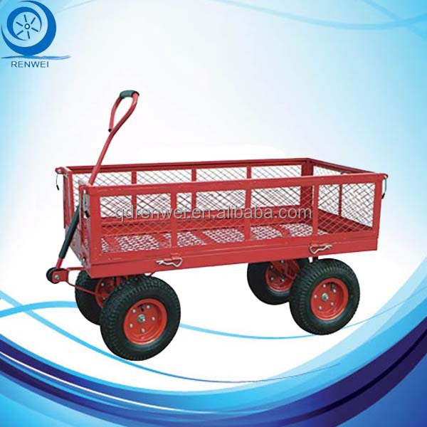 Heavy Duty Garden Wagon Cart /Follding Wagon with Large Capacity