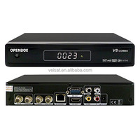 New Openbox V8 DVB-S2 + DVB-T2 Twin Tuner HD Satellite Receiver Supported 3G WiFi iptv