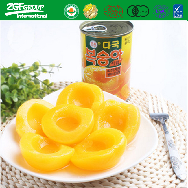 New Crop Canned Yellow Peach in Light Syrup