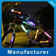 Super Bright 2012 solar led rear light for bike