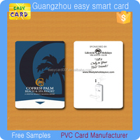 Customized Printing contactless rfid smart hotel ving key card