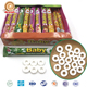 4 in 1 pressed roll sweet assorted fruit whistle candy