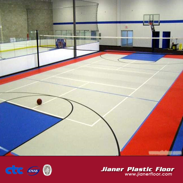 Plastic Sports portable Basketball Flooring