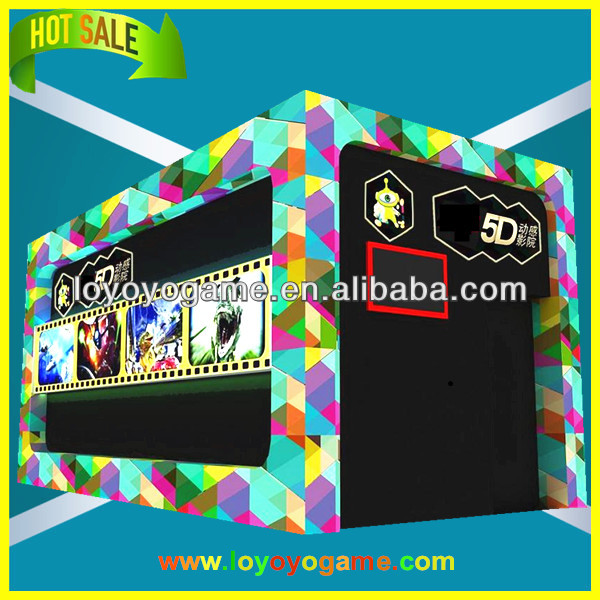 Popular professional exciting 9d cinema OEM outside cinema cabinet for sale