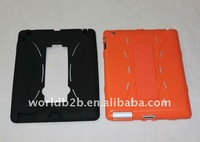 New design TPU Case for iPad 2 with stand