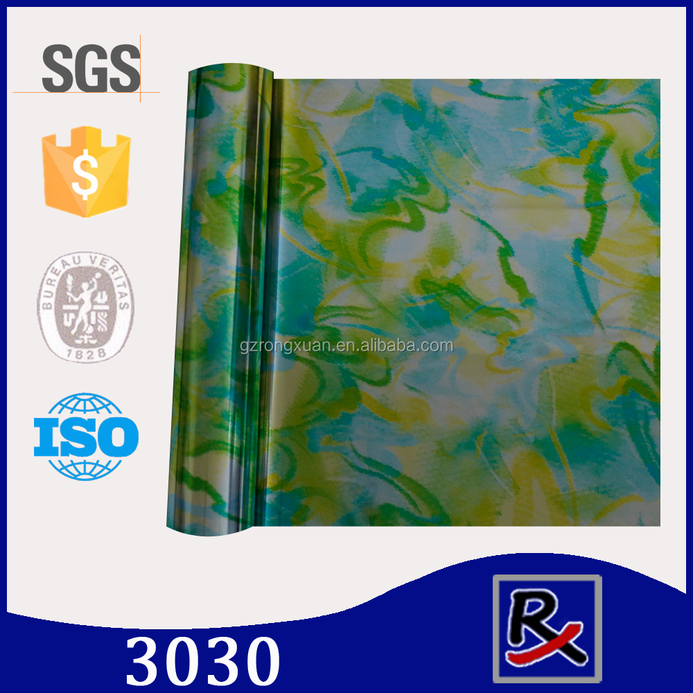 3030# hot stamping foil roll hologram printing for fabric & textile