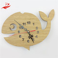 wooden clock decor kids room gift idea