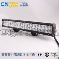 Cheap 24 volt 12600lm combo beam offroad led light bars in china
