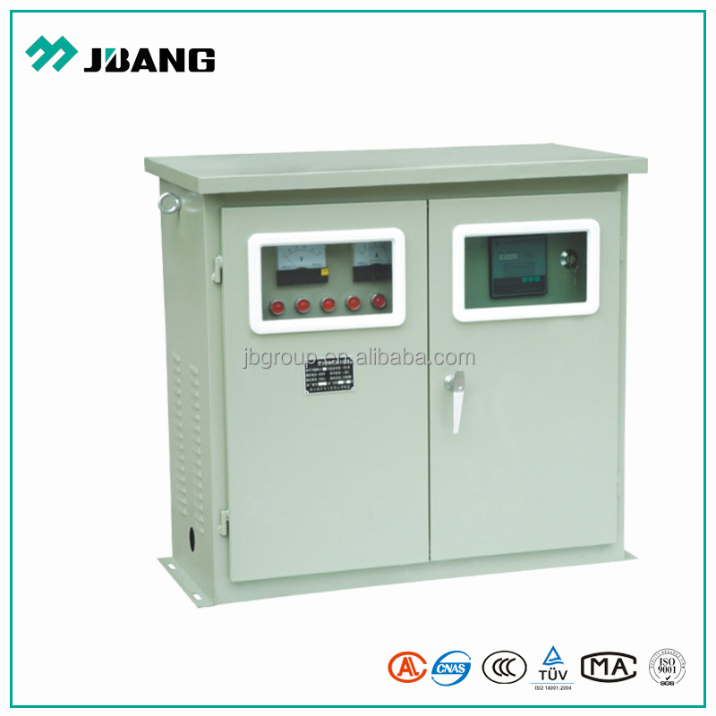Outdoor low voltage 3 phase 400V electrical power distribution panel box