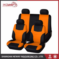 strong support car seat cover made of foam
