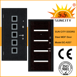 SC-A207 Top quality exterior home security doors price with turkey key