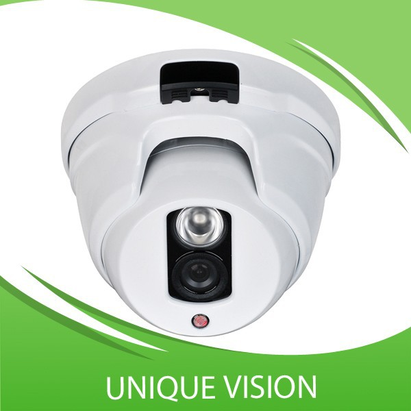 Unique optical Lens metal CCTV camera with 1.3 Mega Pixel