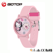 China wholesale hello kitty wrist watch wholesale cheap watch