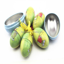 funny small metal tin can, delicate apple shape egg shape tin box,candy tin container