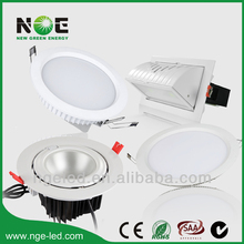 Pretty CE high brightness led downlights 10 watt