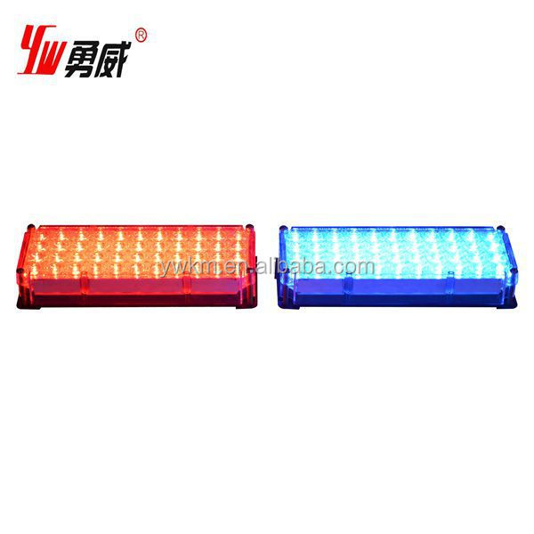 high quality led used emergency yellow warning lights